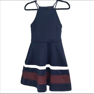 NWT Macy's Juniors Fit and Flare Dress